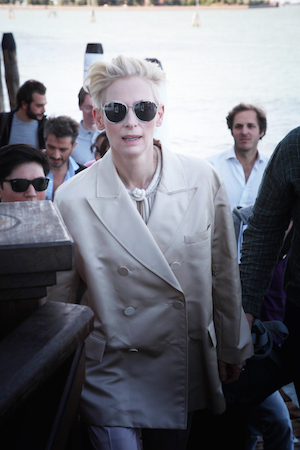 'A Bigger Splash' Cast At Villa Laguna - 72nd Venice Film Festival