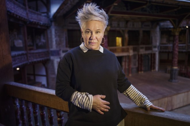 Emma Rice, the new Artistic Director of the Globe Theatre. She takes up her new position on April 23rd 2015 straight after her predesessor Dominic Dromgoole steps down. NO EMBARGO