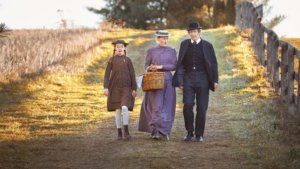 Anne of Green Gables with the Cuthberts