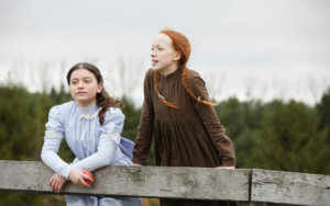 Diana and Anne of Green Gables