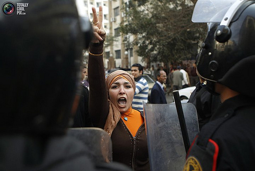 Image via Al Jazeera English's 'Women of the revolution' photostream on Flickr, used under the Creative Commons Attribution-NoDerivs 2.0 Generic licence
