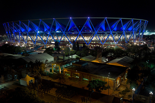 Commonwealth Games.jpg The main stadium of the 2010 Commonwealth Games held in Delhi, India.