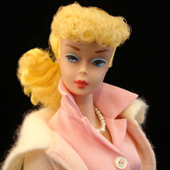 1964-1965 Barbie doll with ponytail