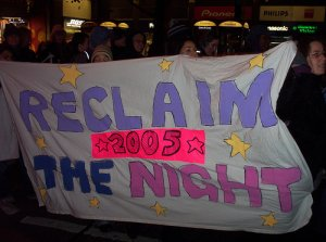 Reclaim the Night Banner @Jo Salmon