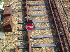 Stop sign on a train track.jpg