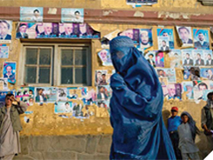 Women in Afghanistan. Original photography - Jenny Matthews/ActionAid