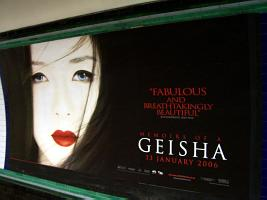 Geisha film advert