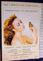 Mariah Carey with butterfly