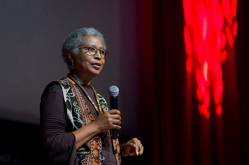 Alice Walker speaking at TED