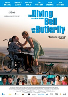 Poster for The Diving-bell and the Butterfly
