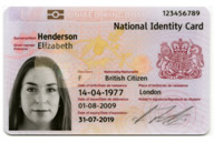 example national ID card